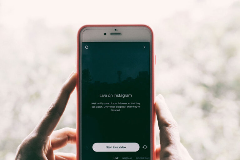 ready to live on Instagram