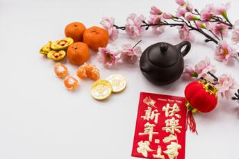 chinese tea pot CNY decoration
