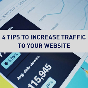 4 Tips to Increase Traffic to Your Website