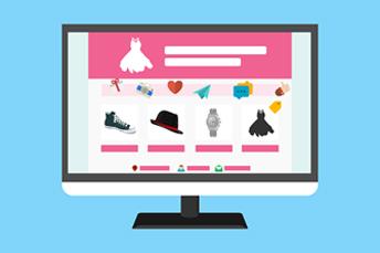 ecommerce website graphich