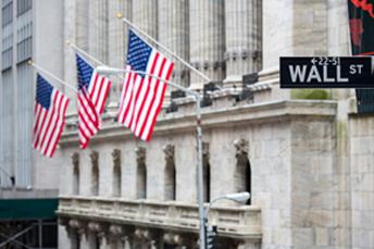 US Wall Street building