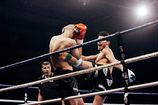 boxing frontal attack
