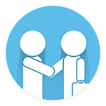 working together icon