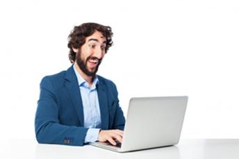 shocking when using laptop