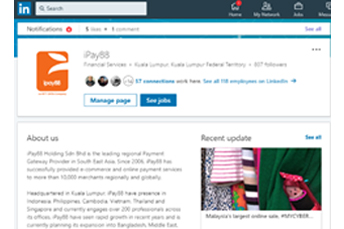 ipay88 linkedin page