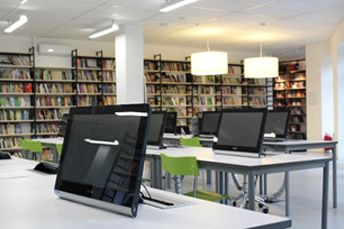 shared PC in library