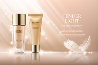 cosmetics promotion banner