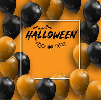 halloween promotion banner
