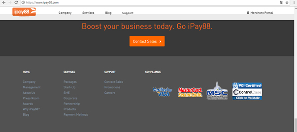 ipay88 website footer